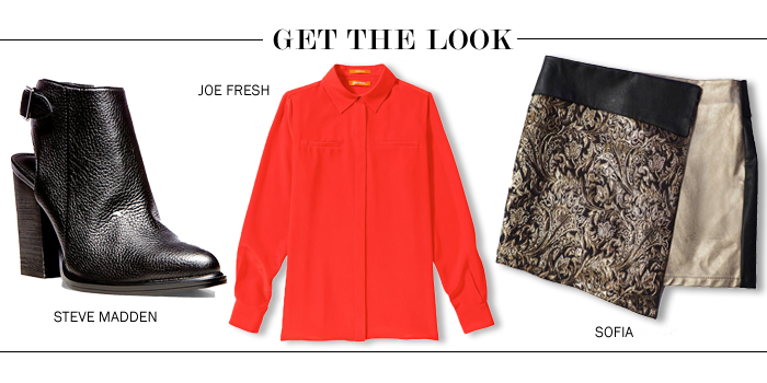 Get the look jacquard