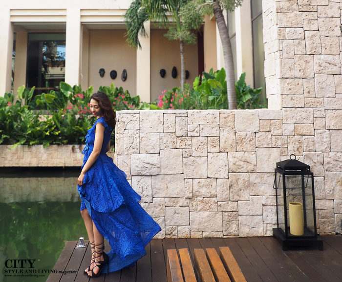 City style and living magazine style fashion blogger banyan tree mayakoba maxi dress jetset diaries