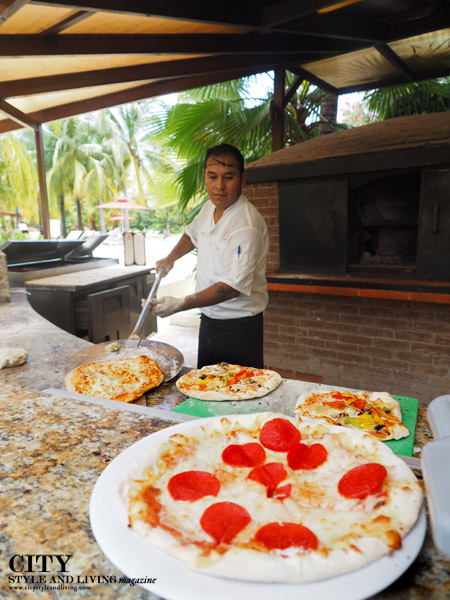 City Style and Living Magazine Hacienda Tres Rios pizza