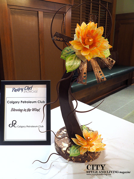 2016 Pastry Chef ShowcasePetroleum Club ChocolateSculpture