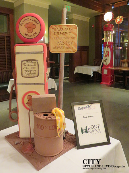 2016 Pastry Chef Showcase Post Hotel Chocolate Sculpture. /K&S Media
