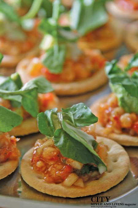Smoked Oyster Salad City Style and Living Magazine