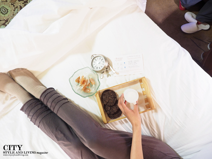 Auberge Carmel turndown service caramels city style and living magazine