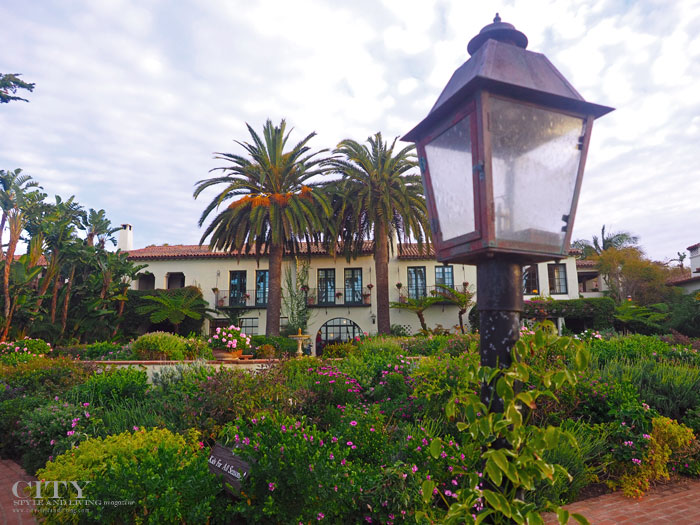 City Style and Living Magazine Four Seasons Biltmore Santa Barbara Spa Fountain