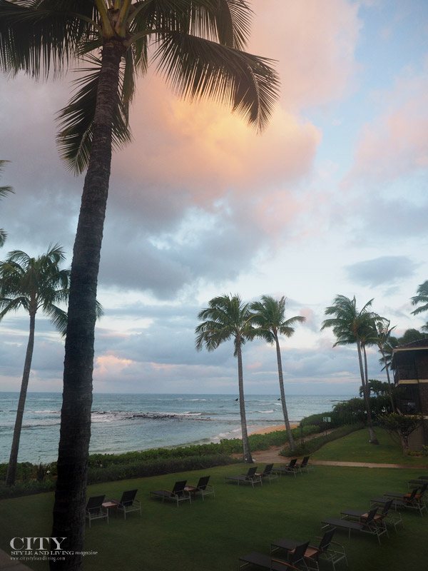 Koa Kea Resort Sunrise city style and living magazine