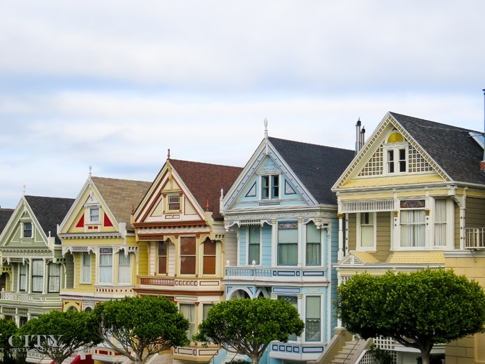 City Style and Living Magazine San Francisco Painted Ladies