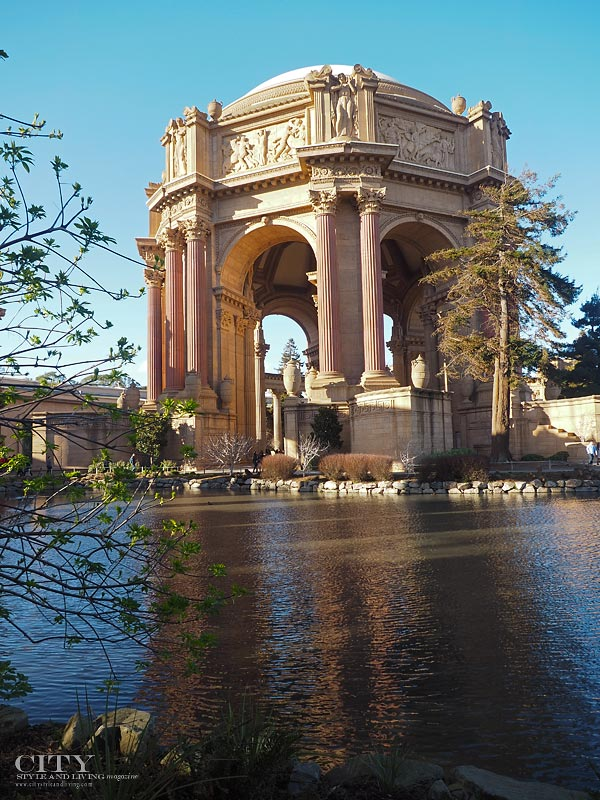 City Style and Living Magazine San Francisco Palace of Fine Arts