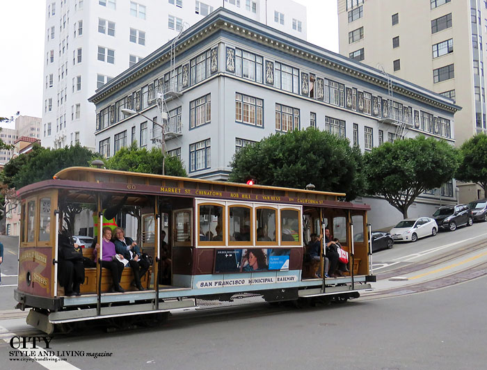 City Style and Living Magazine Cable Car San Francisco