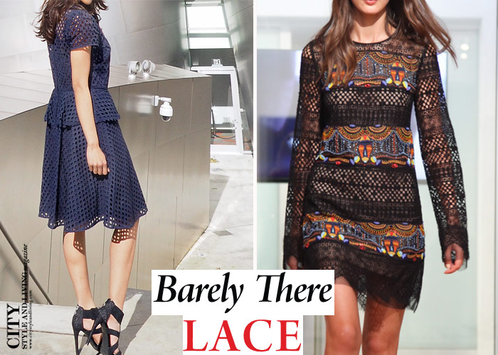 Lace trend summer 2016 City Style and Living Magazine 2