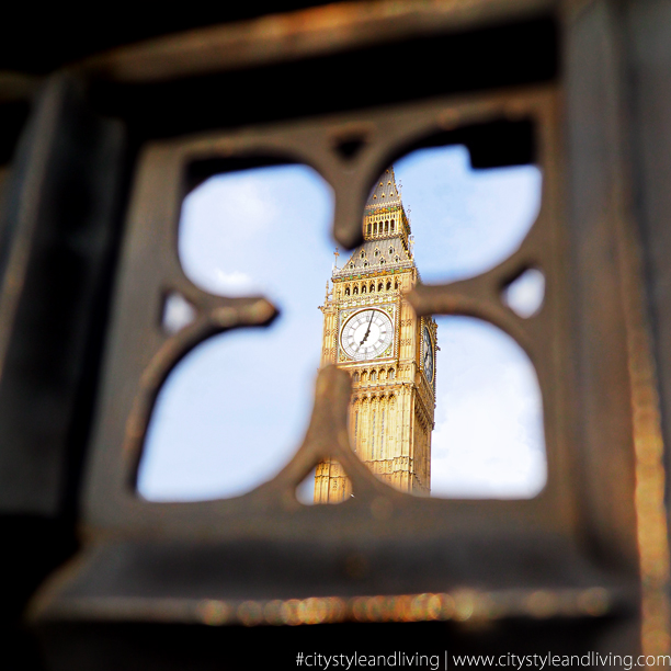 City Style and Living Magazine instagram big ben london