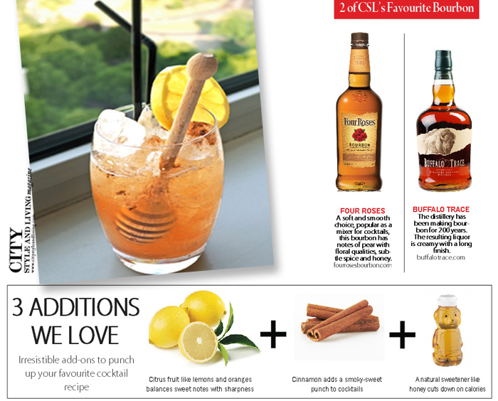 Honey Bear Cocktail City Style and Living Magazine