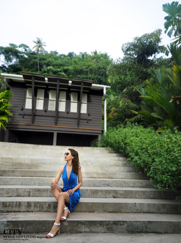 City style and living magazine style fashion blogger Saint Lucia Boucan Hotel Chocolat villa