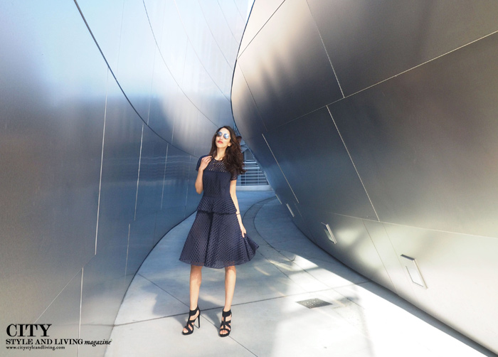 City Style and Living Magazine style blogger Disney Concert Hall 2