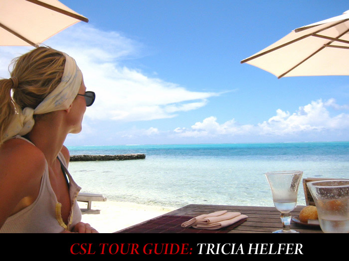 City Style and Living Tour Guide Tricia Helfer Vacation