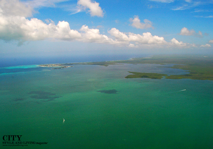 of City Style and Living Magazine cayman aerial