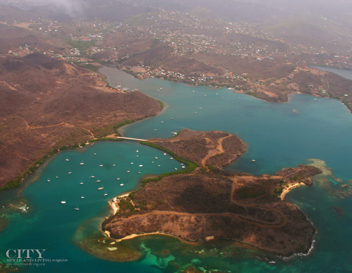 of City Style and Living Magazine grenada aerial