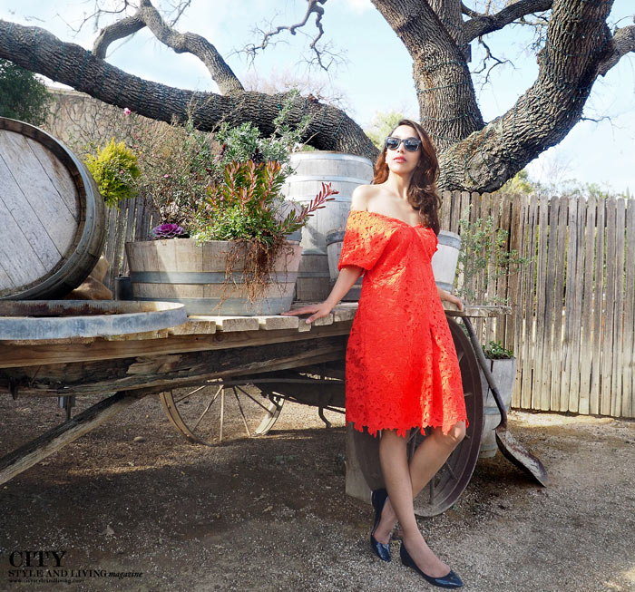 City Style and Living Magazine sunstone winery banana republic