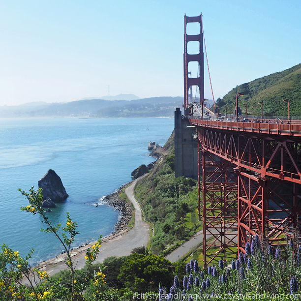 City Style and Living Magazine editors letter fall golden gate bridge