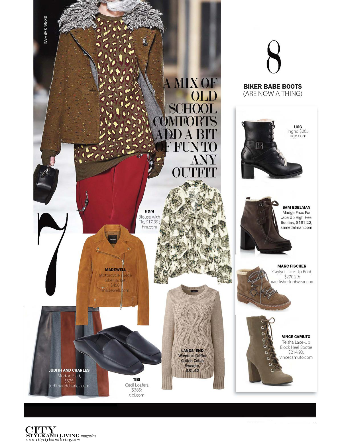 City Style and Living Magazine fall fashion trends 2016 4