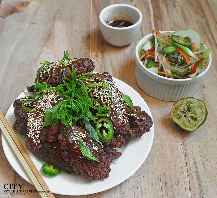 City Style and Living Magazine. Korean Fried Chicken
