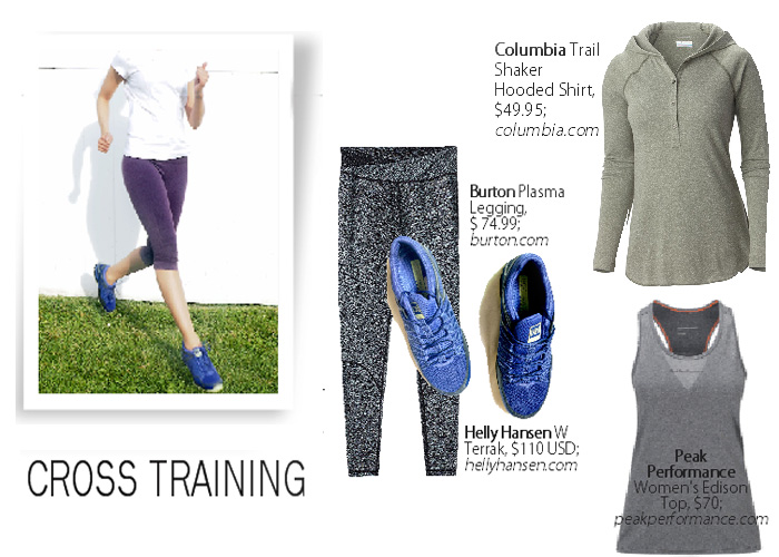 City Style and Living Magazine cross training fitness tips and workout gear