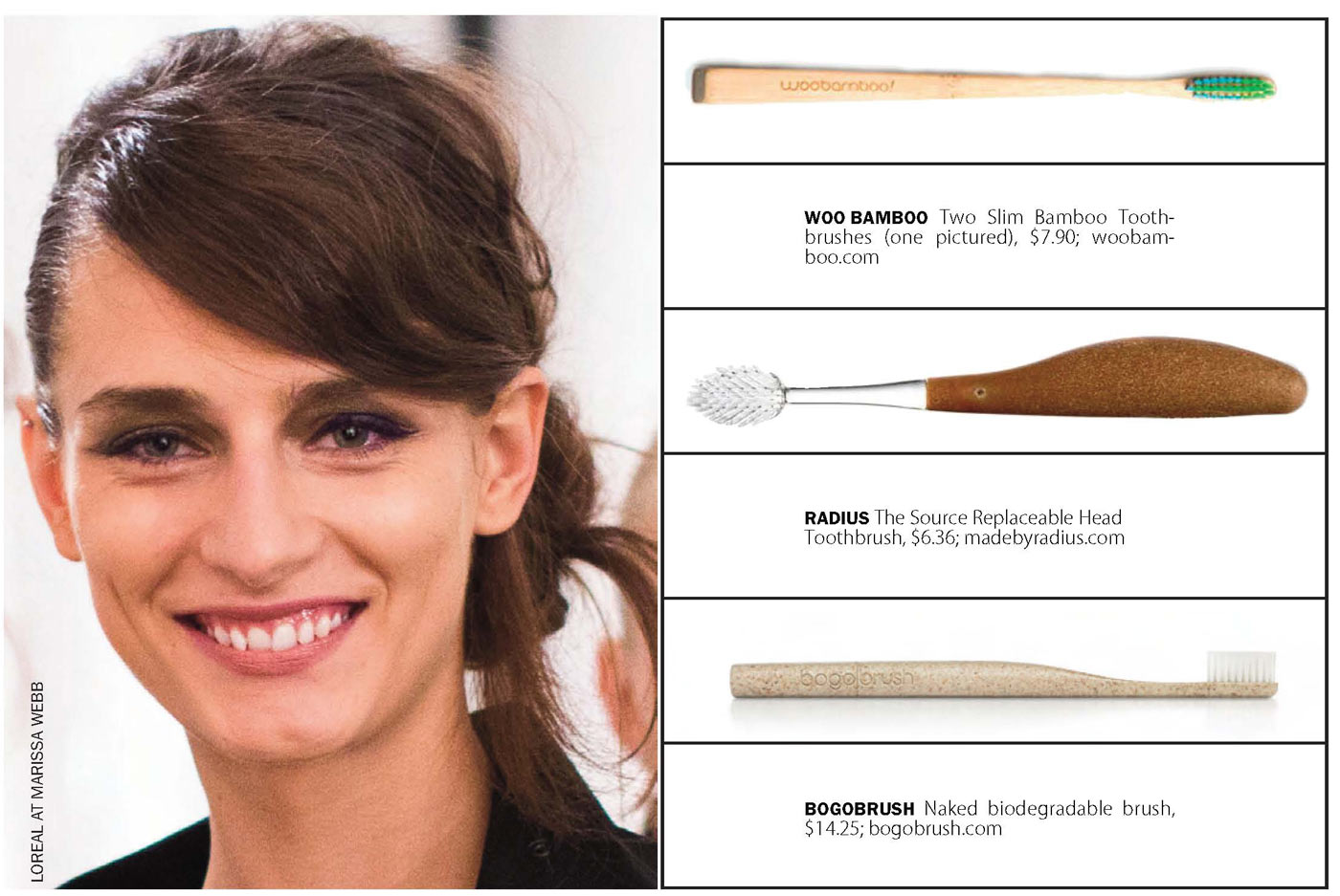 city style and living magazine healthy eco toothbrushes