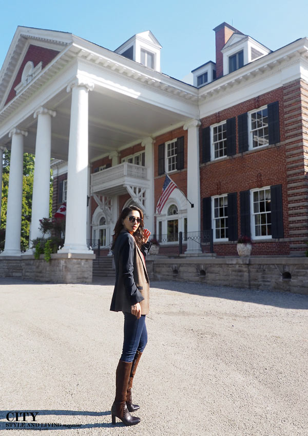 Langdon Hall City Style and Living style blogger riding school 1