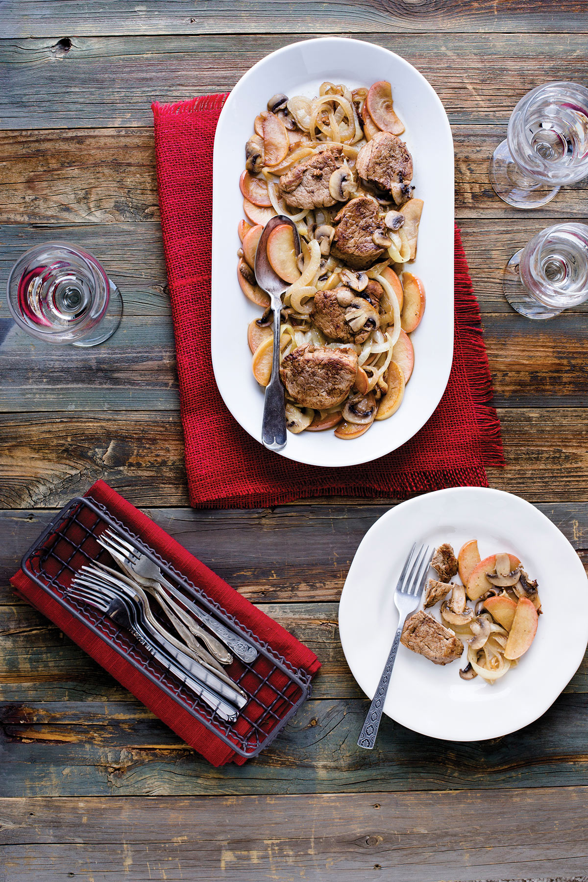 How D'ya Like Them Apples by Madge Baird pork tenderloin