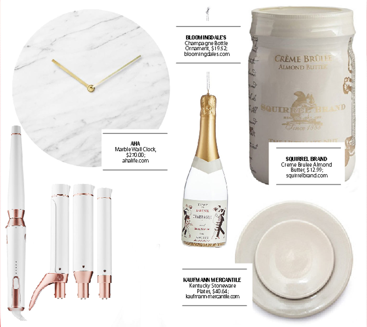 city style and living magazine gift guide white 2