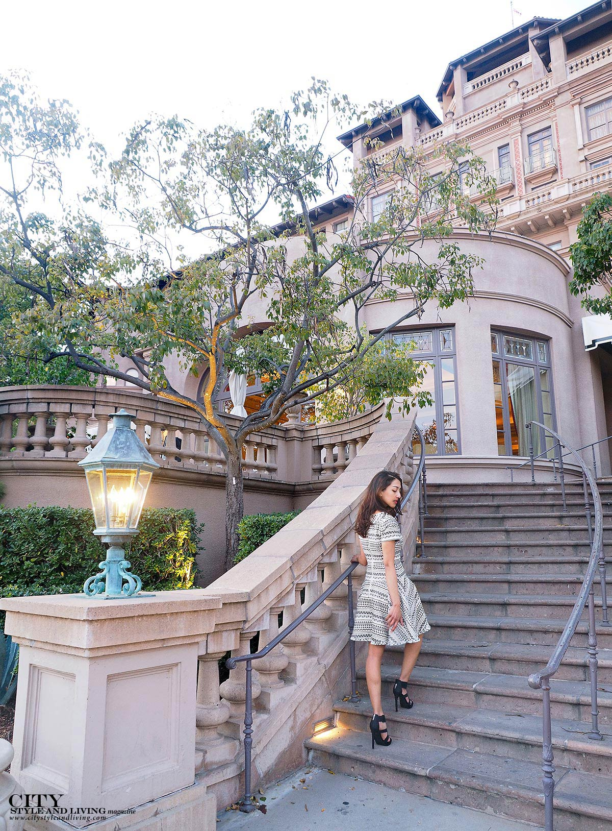 City style and living magazine staircase langham pasadena