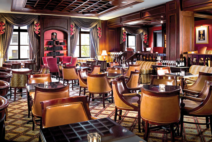 City Style and Living Magazine fairmont royal york library bar