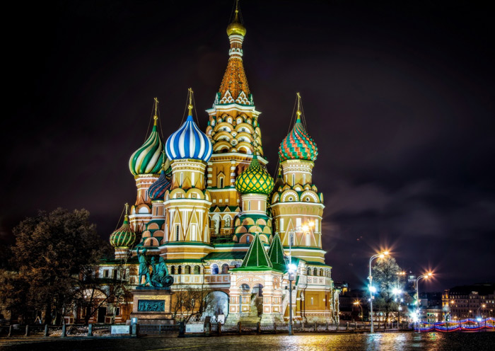 City Style and Living saint basils cathedral moscow