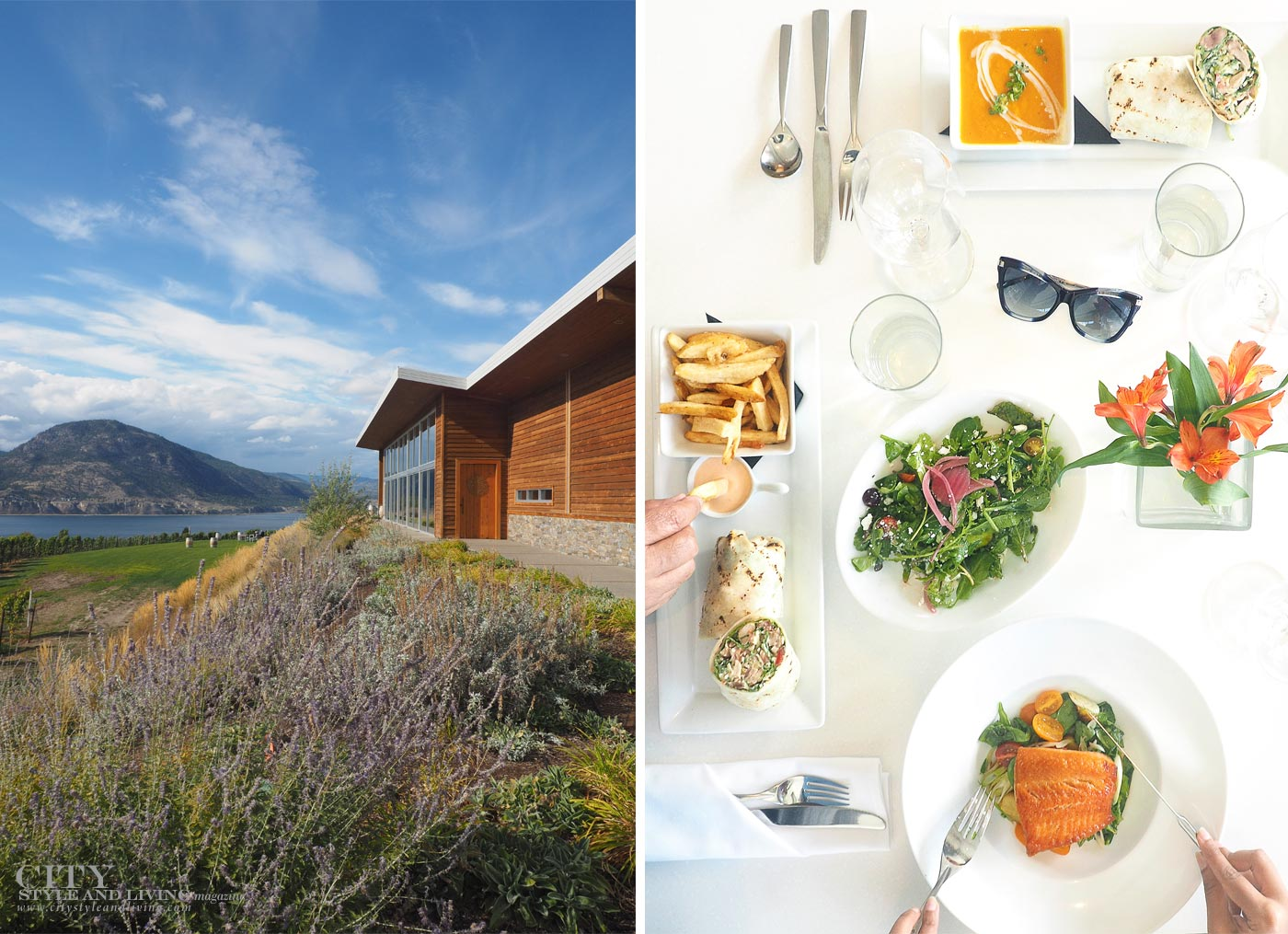 Poplar Grove Winery Okanagan in City Style and Living Magazine