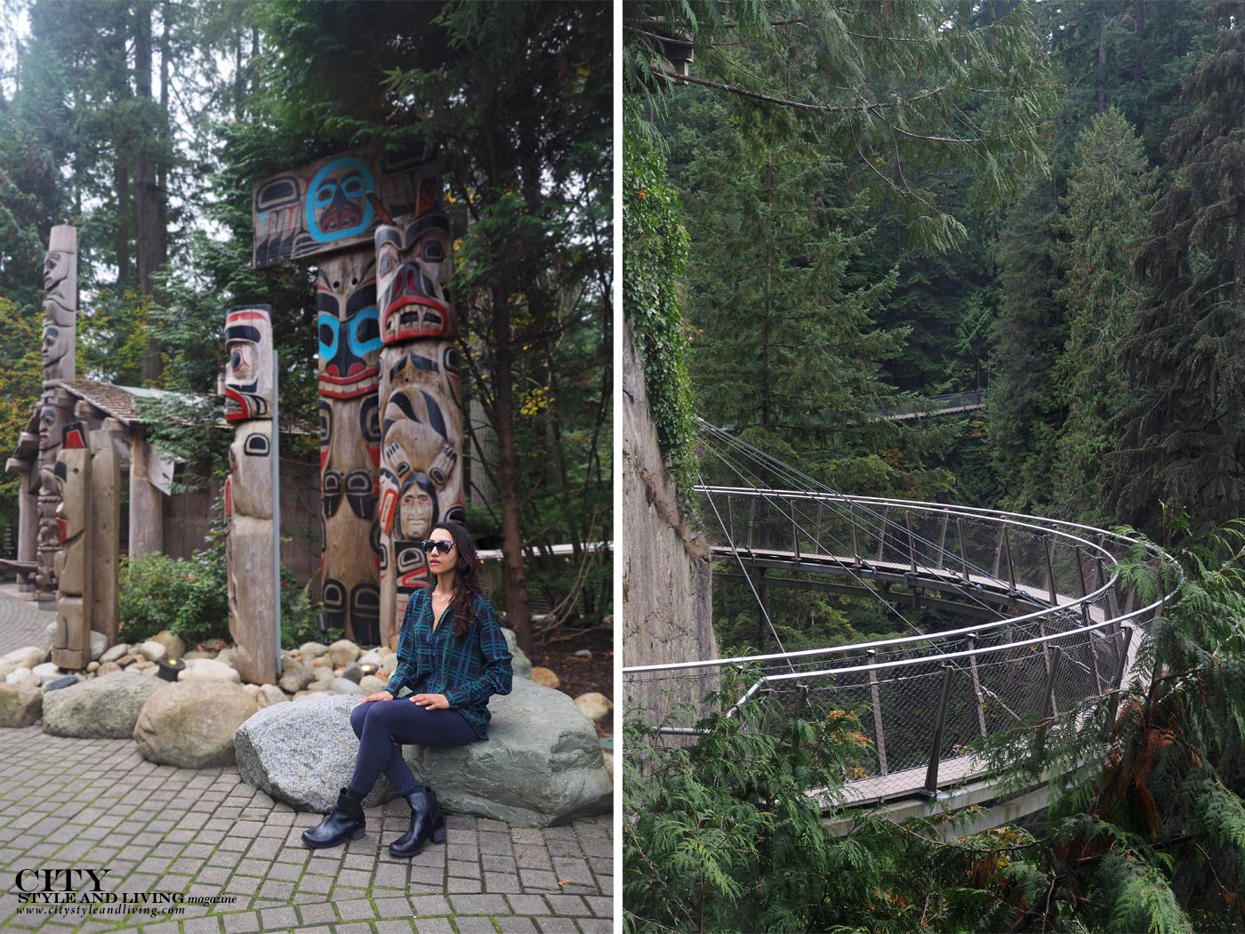 City Style and Living Magazine Capilano suspension bridge vancouver