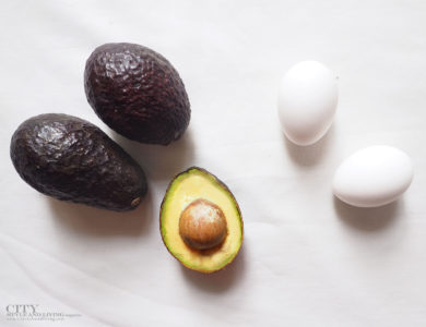 city style and living magazine how to make an easy Avacado Hair Mask