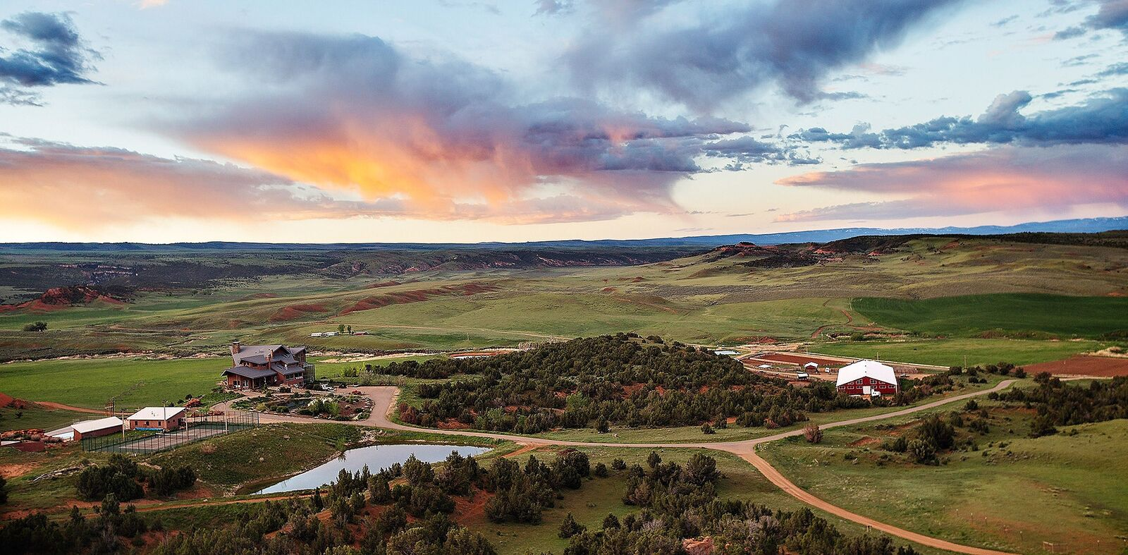 Take a yoga class at Wyoming's Red Reflet Guest Ranch.