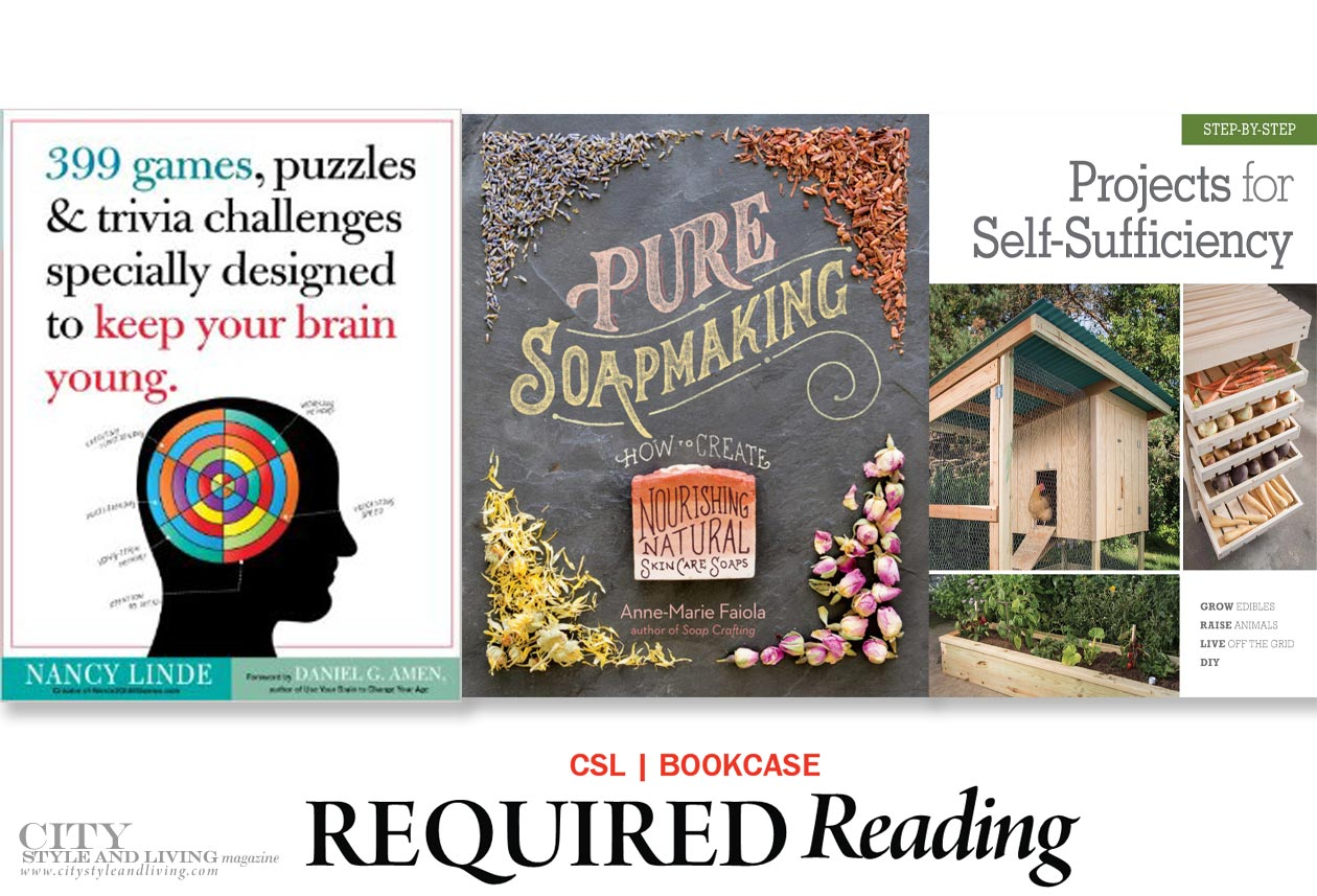 City Style and Living Magazine books for spring 2017