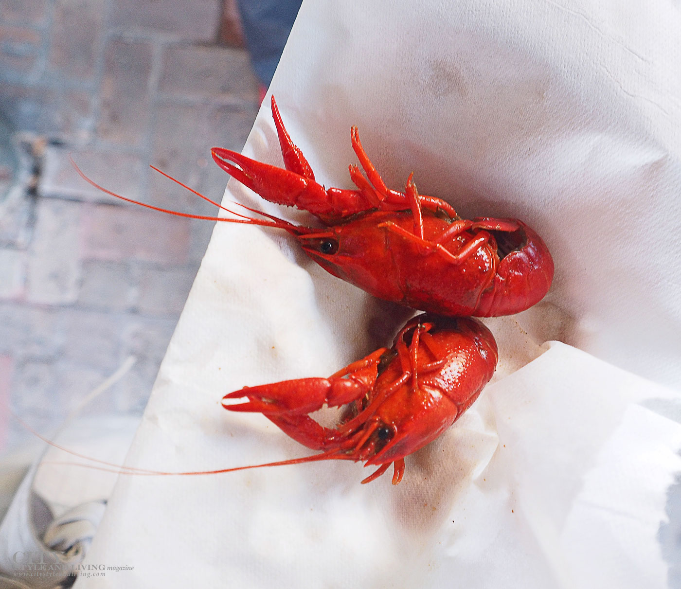 City Style and Living Magazine Crawfish New Orleans