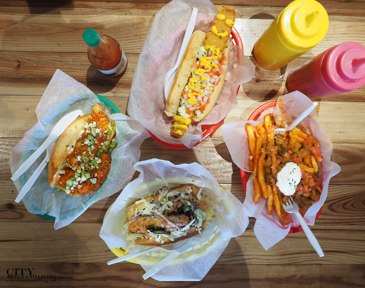 City Style and Living Magazine Dat Dog New Orleans hot dogs