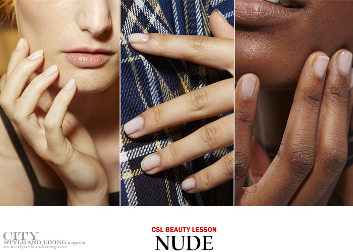 city style and living magazine nail trends spring 2017 nude