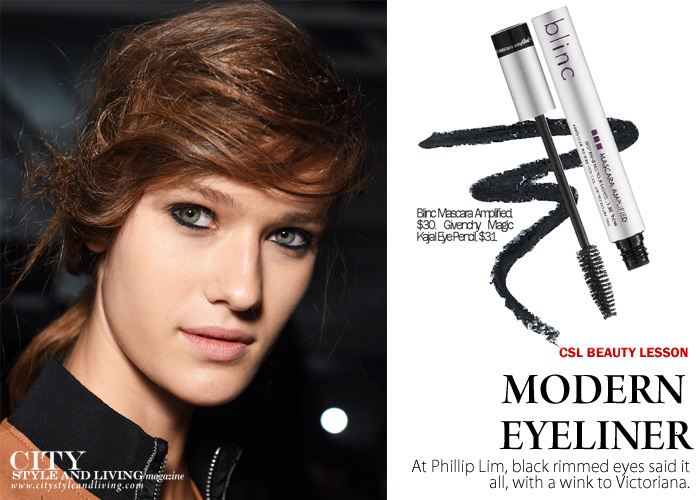 City Style and Living Spring 2017 modern eyeliner Philip Lim