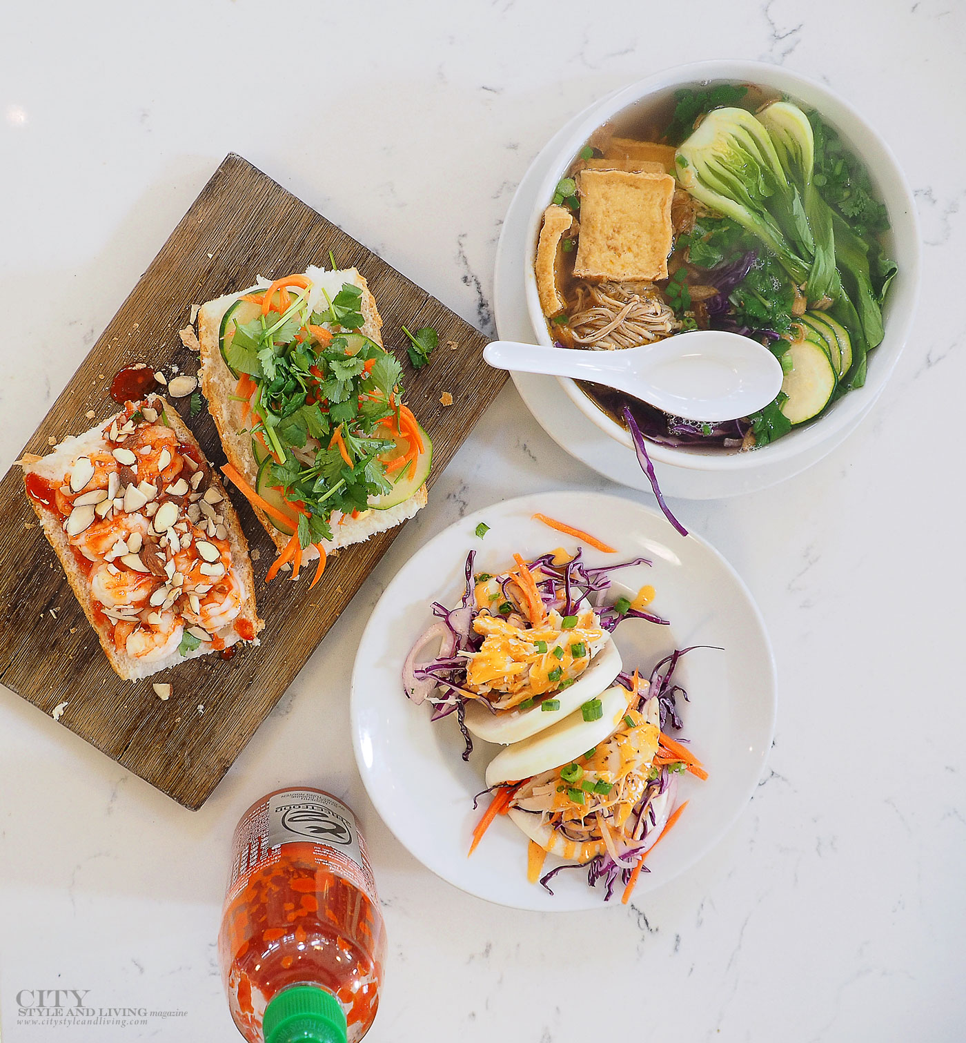 City Style and Living Magazine T2 Streetfood St Roch Market New Orleans Banh Mi,Vegan Pho and bao