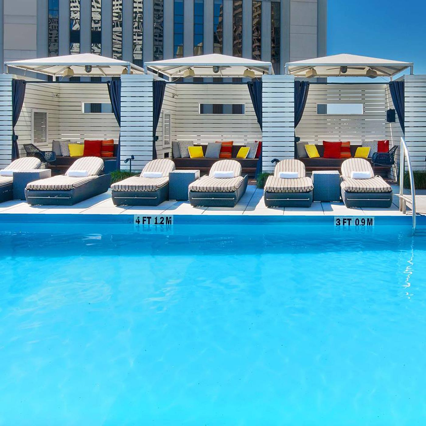 City Style and Living Magazine Le Meridien New Orleans rooftop pool