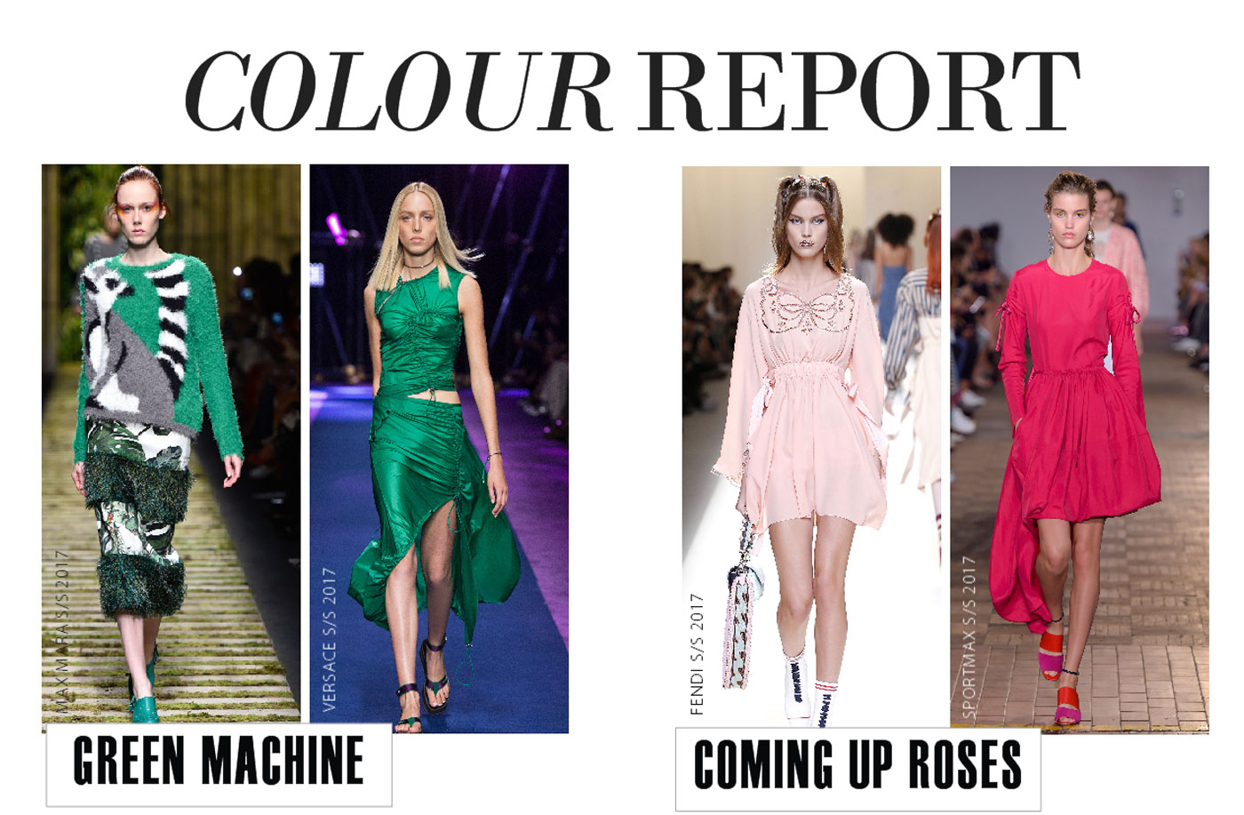 City Style and Living Magazine spring 2017 fashion trends colour