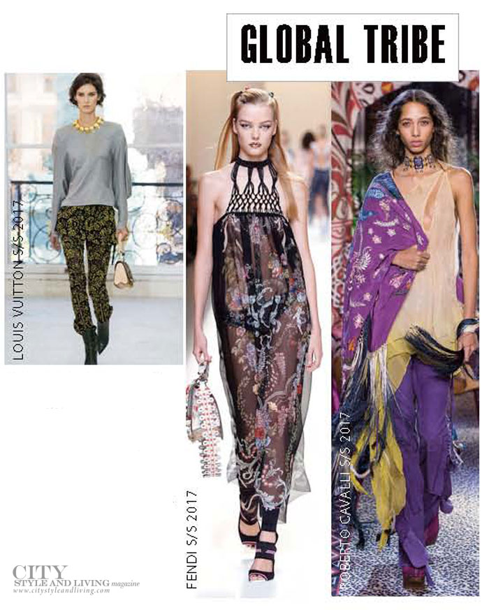 City Style and Living Magazine spring 2017 fashion trends Global