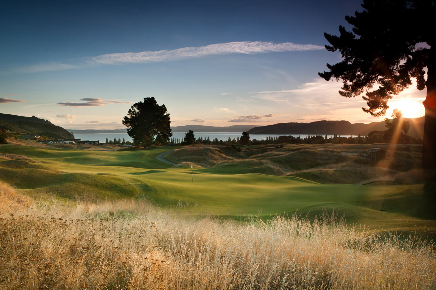 City Style and Living Magazine Luxury Hotel Kinloch Club New Zealand golf course sunrise