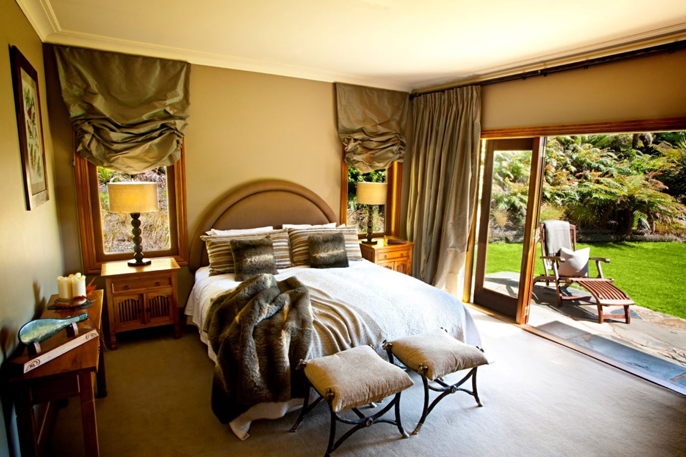 City Style and Living Magazine treetops lodge and estate room interior decor