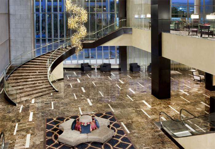 City Style and Living Magazine new orleans hotel hyatt regency lobby