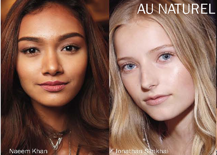 City Style and Living Magazine Summer 2017 beauty trends au naturel