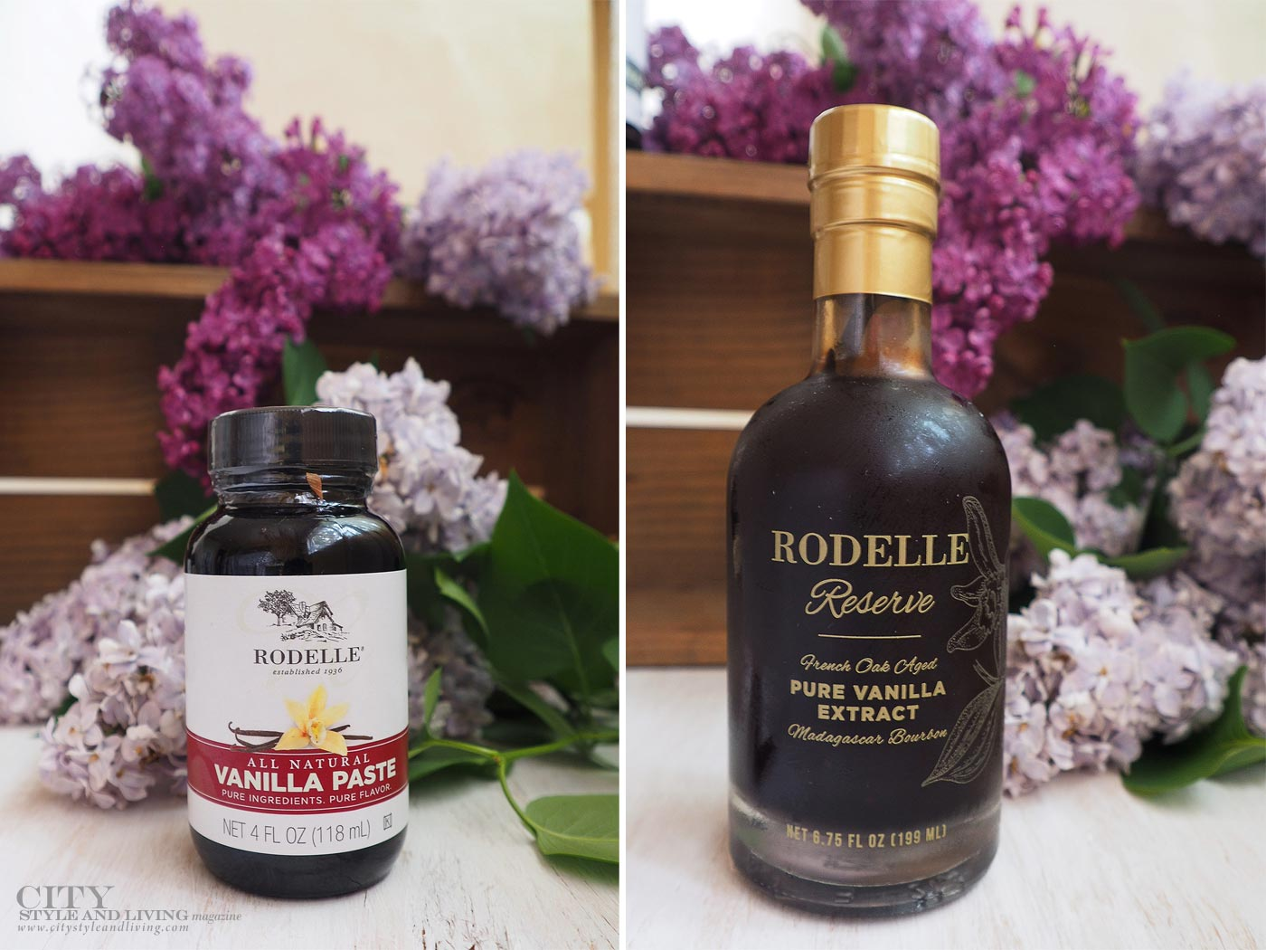 City Style and Living Magazine rodelle vanilla